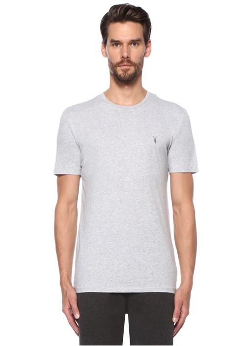 Tonic Gri Melanj Basic T-shirt