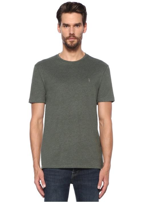 Brace Tonic Yeşil Bisiklet Yaka Basic T-shirt