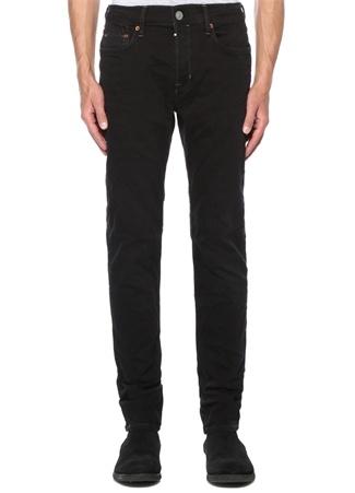 Straight Skinny Fit Rex Siyah Jean Pantolon