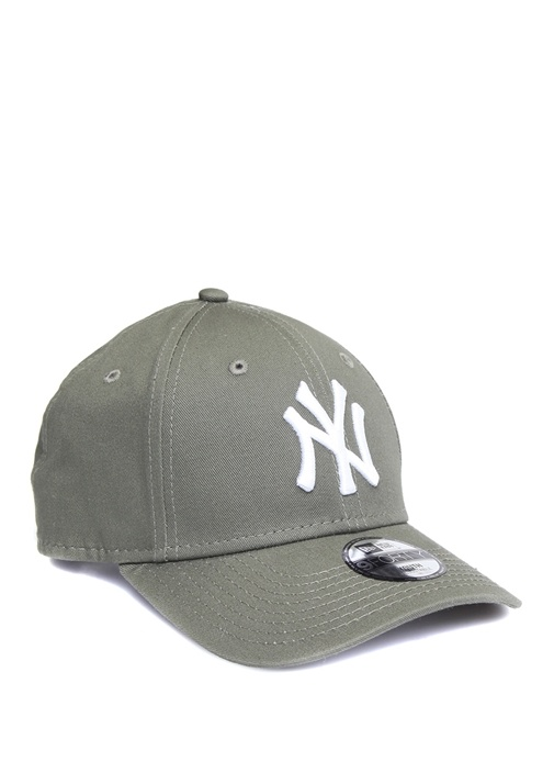 Gri Harf Nakışlı Çocuk Şapka
