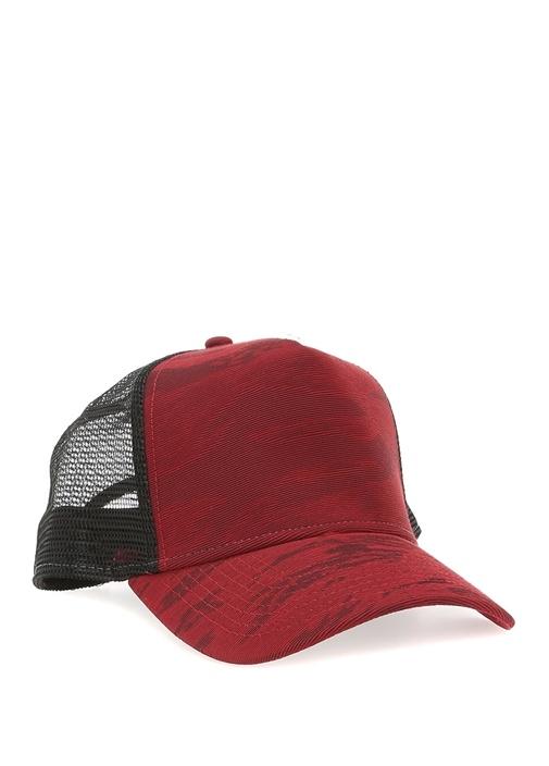 New Era Kırmızı ERKEK Bordo Siyah Kamuflaj Desenli Erkek Şapka ... 02d093a2b4