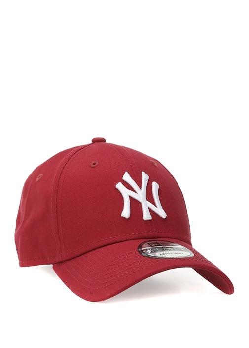 Leag Bordo Logo Nakışlı Erkek Şapka