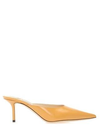 Jimmy Choo Kadın Rav Sarı Deri opuklu Ayakkabı 36.5 R Ürün Resmi