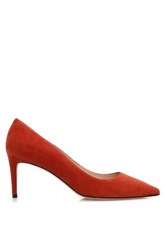 Kadın Leigh 70 Kiremit Süet Stiletto Kırmızı 38 EU
