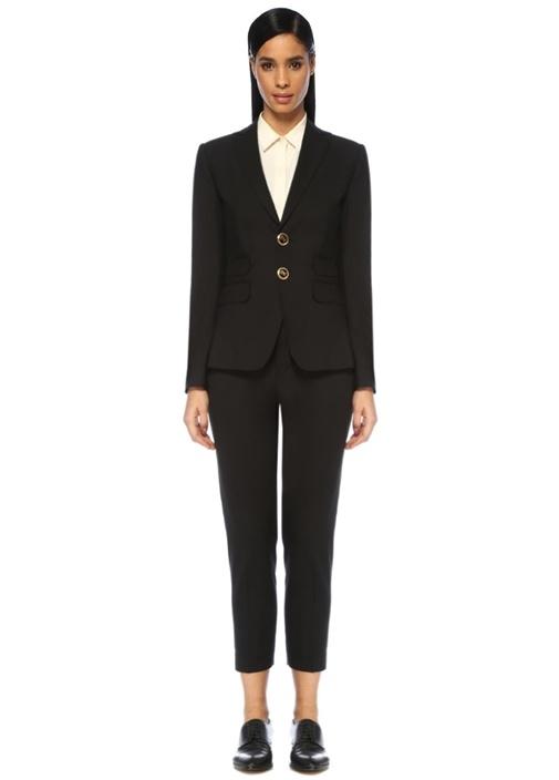 Dsquared2 London Siyah Kelebek Yaka Streç Yün Takım Elbise – 5295.0 TL