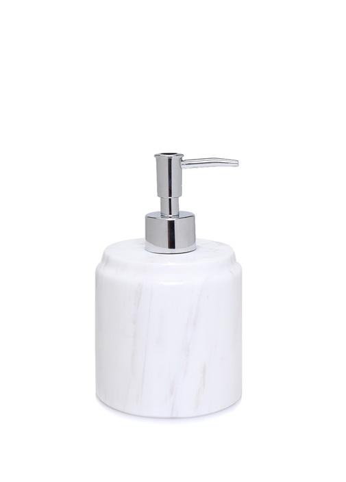 Beyaz Mermer Sıvı Sabunluk