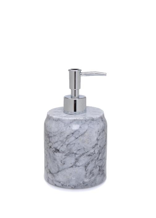 Gri Desenli Mermer Sıvı Sabunluk