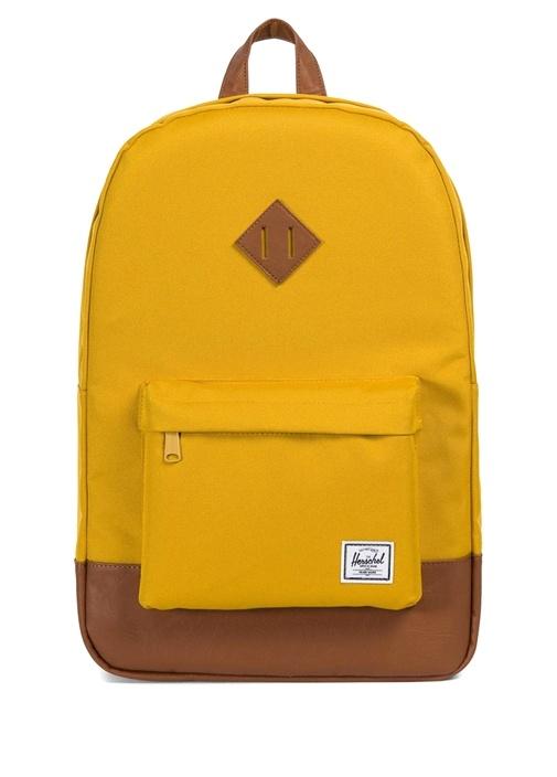 Heritage Sarı Logolu Erkek Sırt Çantası