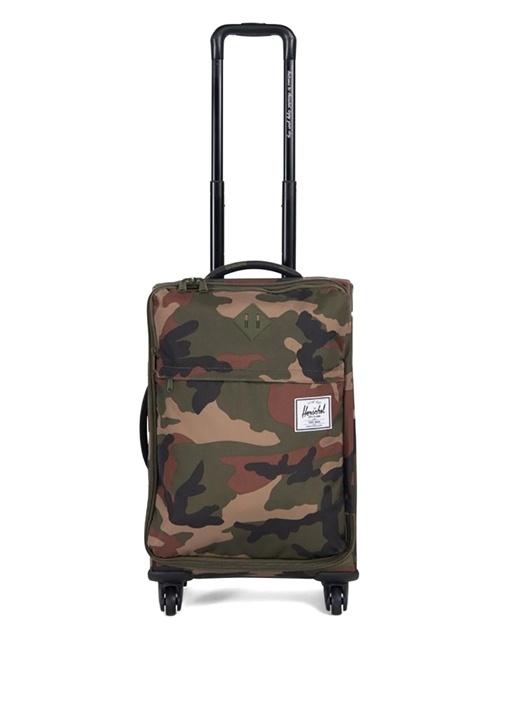 Highland Carry On Kamuflajlı 36 Litre Erkek Bavul