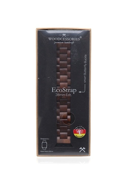 Ecostrap Kahverengi iWatch Erkek Mini Kılıf