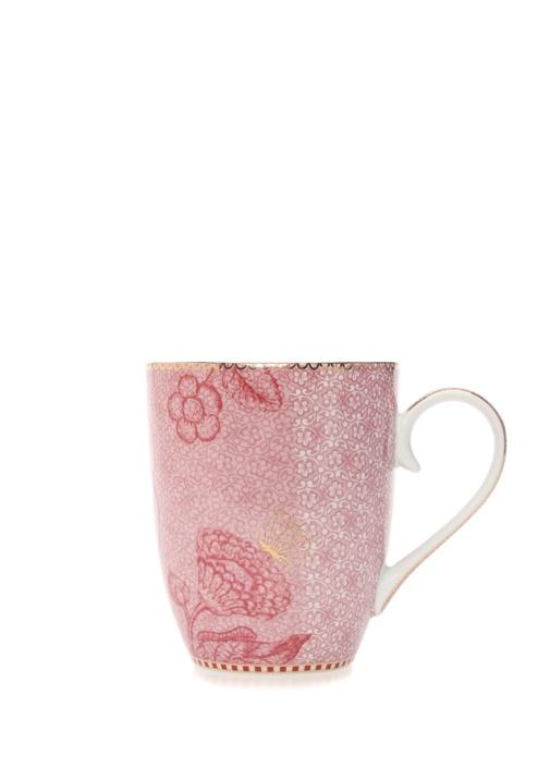 Spring To Life Large Pembe Porselen Kupa