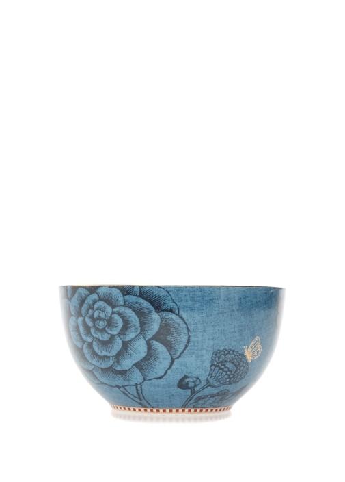 Spring To Life Mavi 15 cm Porselen Tabak