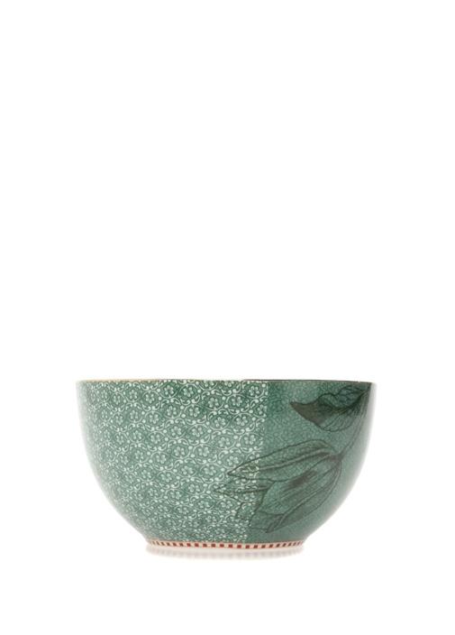 Spring To Life Yeşil 15 cm Porselen Tabak