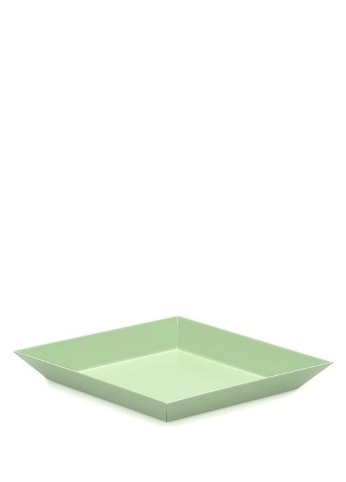 Kaleido Su Yeşili Geometrik Formlu Dekoratif Tabak