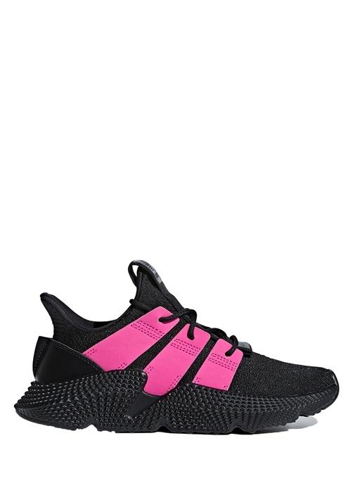 Prophere Siyah Pembe Örgü Dokulu Kadın Sneaker