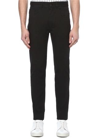 Slim Fit Siyah Normal Bel Spor Pantolon