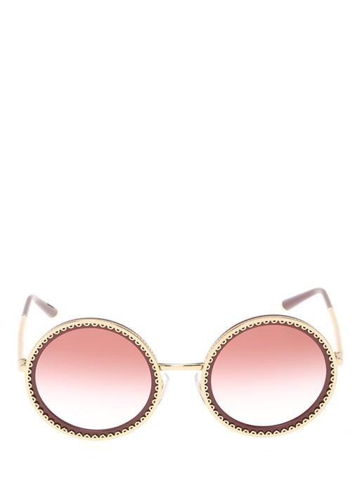 Cuore Sacro Bordo Gold Kadın Güneş Gözlüğü