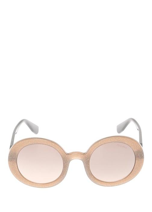 Bronz Simli Kadın Güneş Gözlüğü