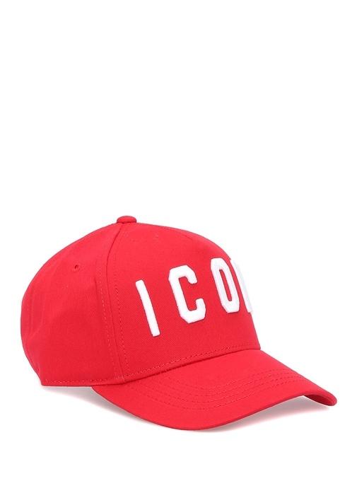 Icon Kırmızı Logolu Erkek Çocuk Şapka