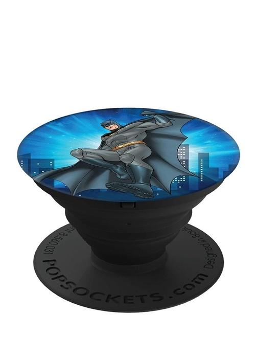 Siyah Batman Baskılı Telefon Tutucu