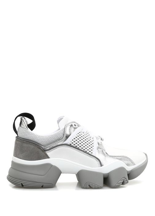 Jaw Beyaz Silver Kadın Sneaker