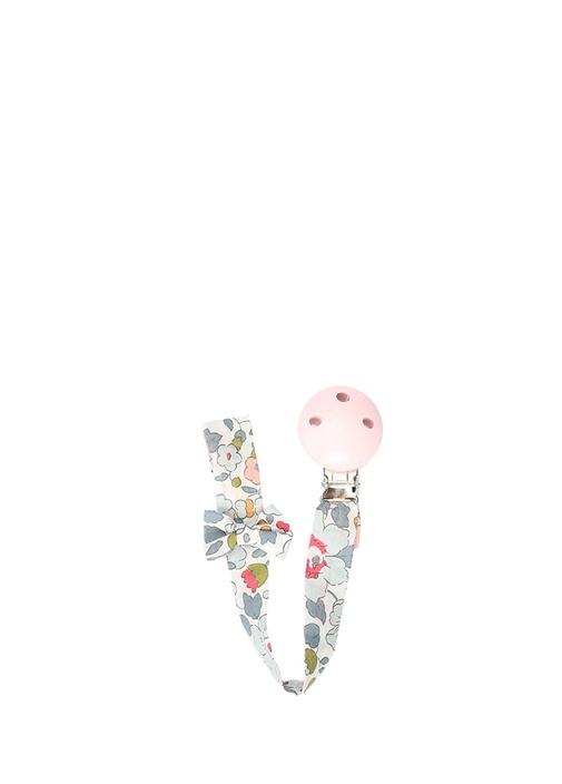 Liberty Çiçek Desenli Kız Çocuk Emzik Askısı