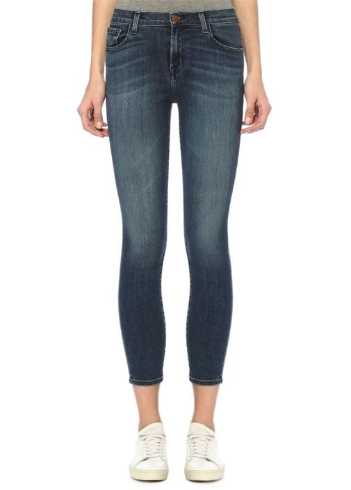 835 Normal Bel Crop Skinny Jean Pantolon