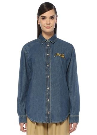bdb5e68102310 Kadın Kot Gömlek Modelleri ve Fiyatları | Beymen