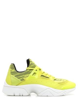Kenzo Kadın Sonic Neon Sarı File Doku Detaylı KadınSneaker 4 EU