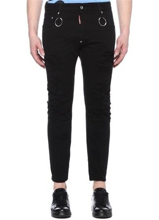 Tidy Biker Siyah Normal Bel Jean Pantolon