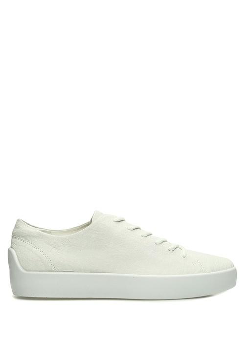 Eik Beyaz Erkek Deri Sneaker