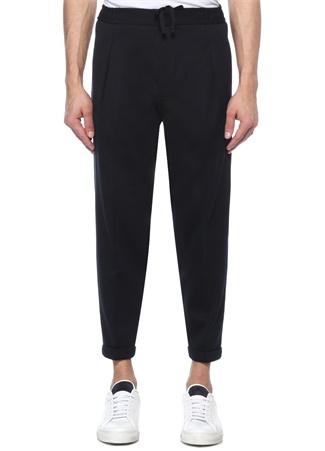 Drop 8 Lacivert Normal Bel Dar Paça Pantolon