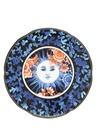 Cannaregio Mavi Güneş Baskılı Porselen Tabak