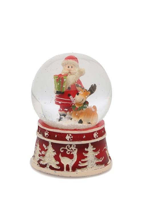 Noel Baba Figürlü Kar Küresi