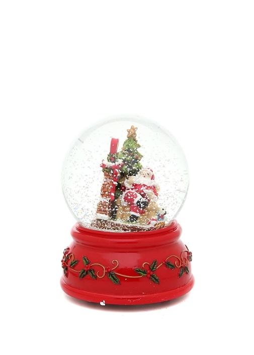 Noel Baba Figürlü Müzikli Kar Küresi