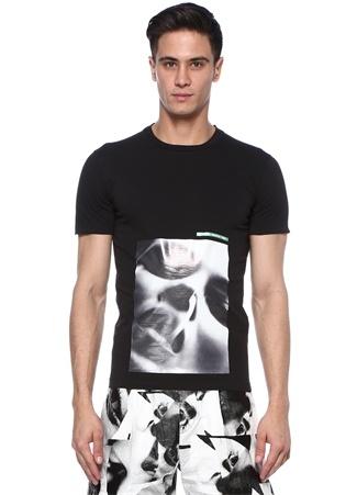 Mert&Marcus Siyah Baskılı T-shirt