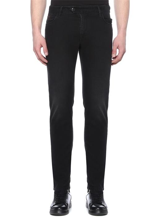 Drop 6 Siyah Normal Bel Jean Pantolon
