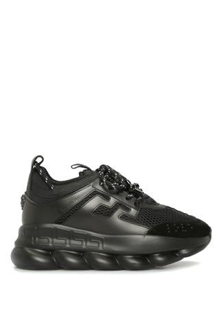 Versace Kadın Chain Reaction Siyah Sneaker 35 EU