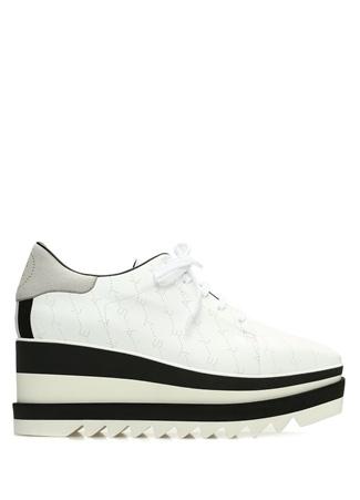 Monogram Elyse Beyaz Kadın Sneaker