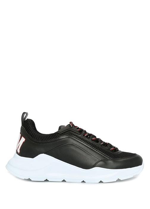 College Siyah Kadın Deri Sneaker