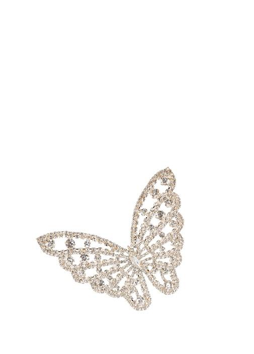 Gold Taşlı Kelebek Formlu Yılbaşı Süsü