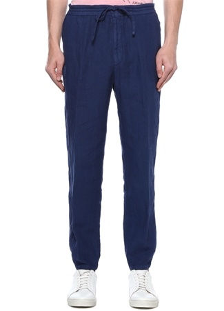 Lacivert Normal Bel Keten Spor Pantolon