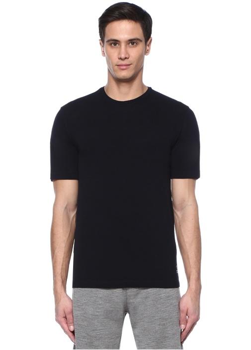 Lacivert Teknomerino Özellikli T-shirt