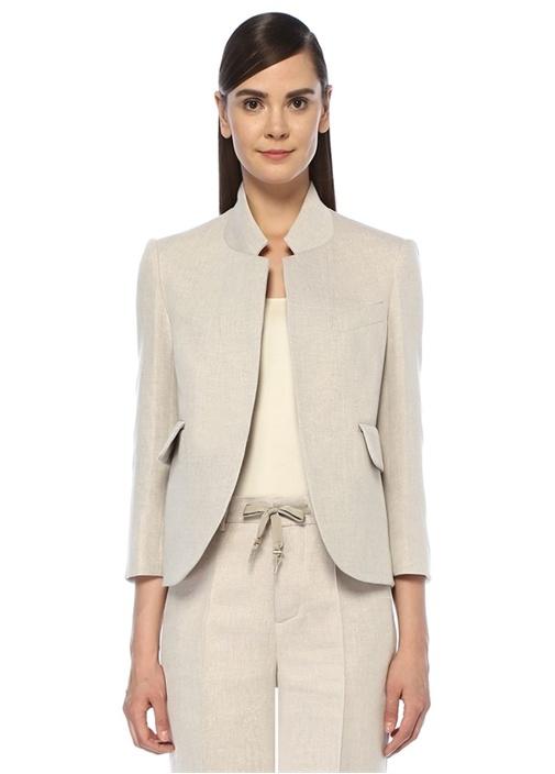 Zadıg&voltaıre Verys Spark Bej Dik Yaka Blazer Ceket – 2549.0 TL
