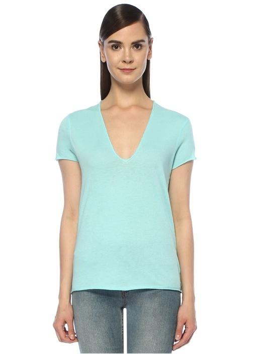 Zadıg&voltaıre Story Fishnet Mavi Sırtı Kuru Kafa Nakışlı T-shirt – 499.0 TL