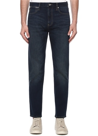 Regular Taper Fit Garage Lacivert Jean Pantolon
