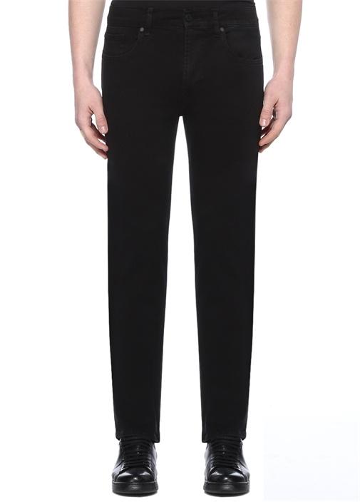 Regular Fit Standart Siyah Jean Pantolon