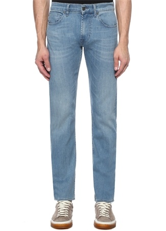 7 For All Mankind Erkek Kayden Slim Straight Fit Mavi Jean Pantolon 36 US