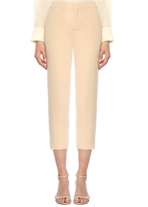 Krem Normal Bel Dar Paça Krep Pantolon