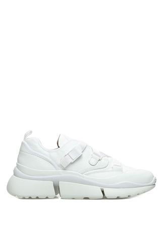 Sonnie Beyaz Kadın Deri Sneaker